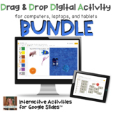 BUNDLE of Digital Drag and Drop Activities on Boom Cards a