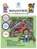 Backyard Bird Unit Study