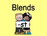 Distance Learning Beginning Blends -st (Google Slides)