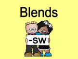 Distance Learning Beginning Blends -sw (Google Slides)