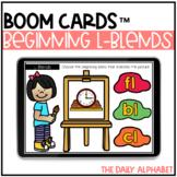 Beginning L-Blends BOOM CARDS