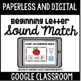 Distance Learning Beginning Letter Sound Activity - Google