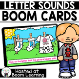 Distance Learning- Beginning Sounds Boom Cards Boom Deck