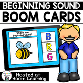 Distance Learning- Beginning (Initial) Sounds Boom Cards Deck