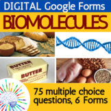 Distance Learning Biomolecules / Macromolecules Review   D