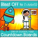 Distance Learning End of Year Countdown Activities Blast O