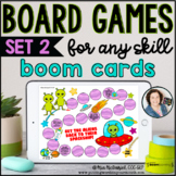 Digital Board Games for ANY skill  [SET 2]  |  Boom Cards™