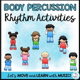 Body Percussion Rhythm Activity Distance Learning Google Apps