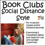 Distance Learning Book Clubs ~ Middle School ELA
