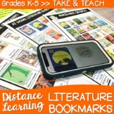 Distance Learning Bookmarks for Picture Books & Read Aloud