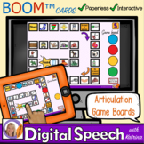 Distance Learning Boom™ Cards: Articulation Game Boards fo