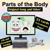 Distance Learning: Boom Cards | Body Parts | Video | Song