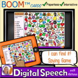Distance Learning Boom™ Cards: I can find it! Spying Game