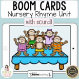 Distance Learning Boom™ Cards Nursery Rhymes