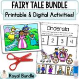 Boom™ Cards Royal Fairy Tale Bundle   Digital & Printable Retell Activities