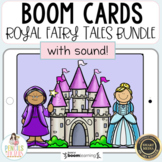 Distance Learning   Boom Cards Royal Fairy Tale Bundle