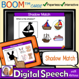 Distance Learning Boom™ Cards: Shadow Match