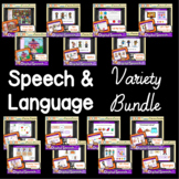 Distance Learning Boom™ Cards: Speech & Language Variety Bundle