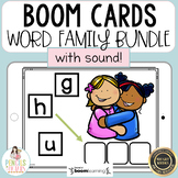 Distance Learning Boom Cards   Word Family Bundle