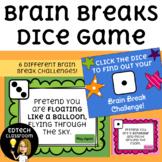 Distance Learning Brain Breaks Dice Game!