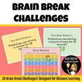Distance Learning Brain Breaks Game