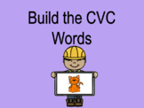 Distance Learning Build the CVC Word (Google Slides)