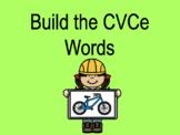 Distance Learning Build the CVCe Words (Google Slides)