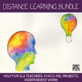 Distance Learning Bundle: Help for ELA