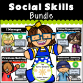 Social Skills Distance Learning Bundle for School Counselors