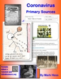 Distance Learning CORONAVIRUS PRIMARY SOURCES LESSON