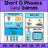Distance Learning - CVC Short O  Digital Activities PowerP