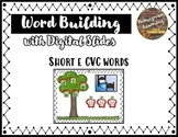 Distance Learning CVC Word Building (Apple Picking Short e