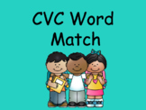 Distance Learning CVC Word Match (Google Slides)