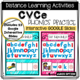 Distance Learning: CVCe Phonics Practice - Interactive Goo