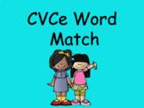 Distance Learning CVCe Word Match (Google Slides)