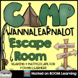 Distance Learning: Camping Digital Escape Room for Reading