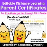 Distance Learning Certificates   Celebrate Your Students'