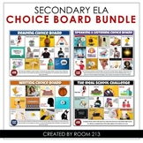 Distance Learning Choice Boards for Secondary ELA