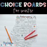 Choice Boards for Winter