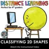 Distance Learning - Classifying 2D shapes - Who am I? Ridd