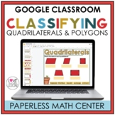 Distance Learning / Classifying Quadrilaterals & Polygons