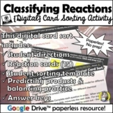 Distance Learning: Classifying Types of Chemical Reactions