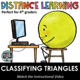 Distance Learning - Classifying triangles by their angles