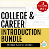 College & Career Readiness Introduction BUNDLE for Google Drive™