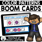 Distance Learning-  Color Patterns Boom Cards Deck