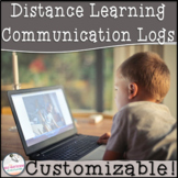 Distance Learning Communication Logs