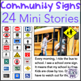 Community and Safety Signs Mini Stories