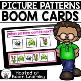 Distance Learning- Complete the Pattern  Boom Cards Boom Deck