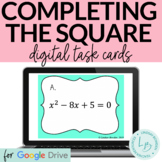 Completing the Square Digital Task Cards