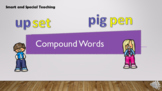 Distance Learning Compound Words Power point and Google Sl